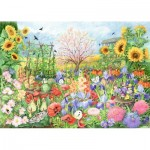 Puzzle  Jumbo-11224 The Sunflower Garden