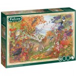 Puzzle  Jumbo-11270 Herbsthedgerow