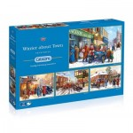 4 Puzzles - Kevin Walsh - Winter about Town