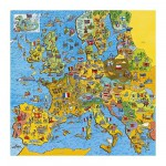 Puzzle  Gibsons-G1010 Jigmap Europe