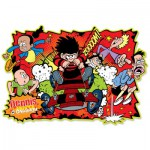 Puzzle  Gibsons-G1102 Dennis and Gnasher
