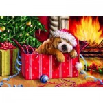 Puzzle  Gibsons-G1114 XXL Teile - Christmas Snooze