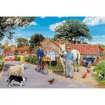 Puzzle  Gibsons-G2218 XXL Teile - Trevor Mitchell - Olive House Farm