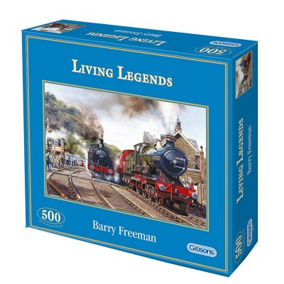 Puzzle Gibsons-G3034 Living Legends