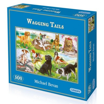 Puzzle Gibsons-G3035 Wagging Tails