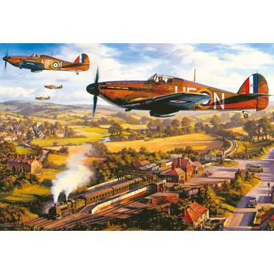 Puzzle Gibsons-G3418 Nicolas Trudgian - Tangmere Hurricanes