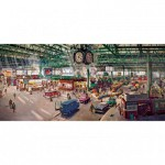 Puzzle  Gibsons-G4032 Terence Cuneo: Under the Clock