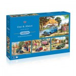 Gibsons-G5034 4 Puzzles - Kevin Walsh: Out and About