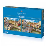 Gibsons-G5041 2 Puzzles - Marcello Corti: Then & Now
