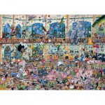 Puzzle  Gibsons-G514 Mike Jupp: I Love Pets