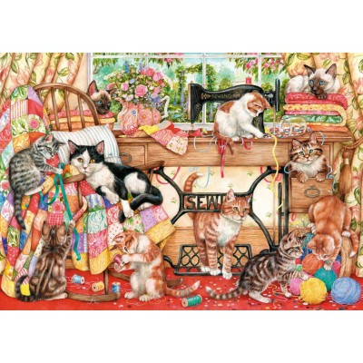 Gibsons-G6108 Puzzle 1000 Teile: A Lost Stitch