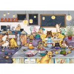 Puzzle  Gibsons-G6182 Linda Jane Smith: Barks Cafe