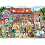 Puzzle  Gibsons-G6318 Pots & Penny Farthings