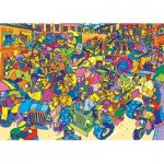Puzzle  Gibsons-G7205 Karneval
