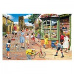 Puzzle  Gibsons-G8011 Trevor Mitchell: Hopscotch Hill
