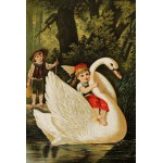 Puzzle  Grafika-Kids-00115 Hansel und Gretel, illustration von Carl Offterdinger