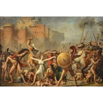 Puzzle  Grafika-Kids-00358 XXL Teile - Jacques-Louis David: The Intervention of the Sabine Women, 1799