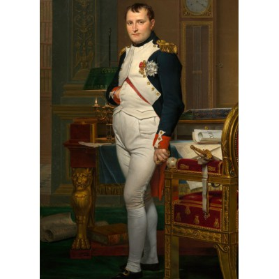Puzzle Grafika-Kids-00362 Magnetische Teile - Jacques-Louis David: The Emperor Napoleon in his study at the Tuileries, 1812
