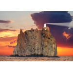 Puzzle  Grafika-Kids-00413 XXL Teile - Stromboli Lighthouse, Italy