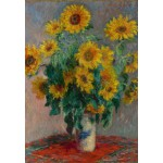 Puzzle  Grafika-Kids-00457 Claude Monet: Bouquet of Sunflowers, 1881