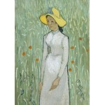 Puzzle  Grafika-Kids-00997 Magnetische Teile - Vincent Van Gogh - Girl in White, 1890