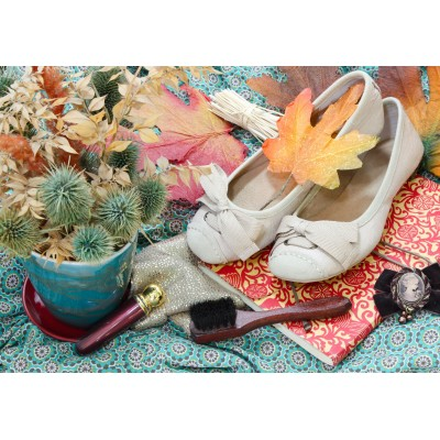 Puzzle Grafika-Kids-01154 Vintage Dancing Shoes