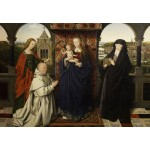 Puzzle  Grafika-Kids-01260 Jan van Eyck - Virgin and Child, with Saints and Donor, 1441