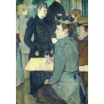 Puzzle  Grafika-Kids-01360 Henri de Toulouse-Lautrec: A Corner of the Moulin de la Galette, 1892