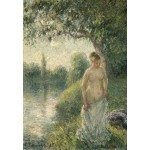 Puzzle  Grafika-Kids-01370 Pissarro Camille: The Bather, 1895