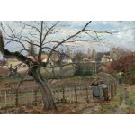 Puzzle  Grafika-Kids-01376 Camille Pissarro: The Fence, 1872