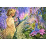 Puzzle  Grafika-Kids-01535 Josephine Wall - Wisteria Way