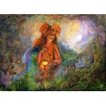 Puzzle  Grafika-Kids-01595 Josephine Wall - Lighting the Way