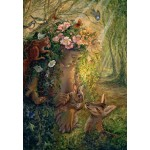 Puzzle  Grafika-Kids-01598 Josephine Wall - The Wood Nymph