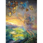 Puzzle  Grafika-Kids-01603 Josephine Wall - Up and Away
