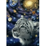 Puzzle  Grafika-Kids-01634 Magnetische Teile - Schim Schimmel - One with the Universe