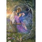 Puzzle  Grafika-Kids-01966 Josephine Wall - Love Between Dimensions
