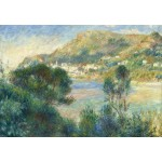 Puzzle  Grafika-Kids-02047 Auguste Renoir - View of Monte Carlo from Cap Martin
