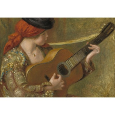Puzzle Grafika-Kids-02049 Auguste Renoir - Young Spanish Woman with a Guitar