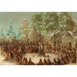 Puzzle   George Catlin: La Salle's Party Feasted in the Illinois Village. January 2, 1680, 1847-1848