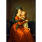 Puzzle   Louise-Élisabeth Vigee le Brun: Princess Alexandra Golitsyna and her son Piotr, 1794