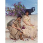 Puzzle  Grafika-00160 Sir Lawrence Alma-Tadema: An eloquent silence