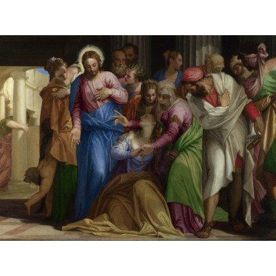 Puzzle Grafika-00309 Paolo Veronese: The Conversion of Mary Magdalene, 1548