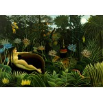 Puzzle  Grafika-00852 Henri Rousseau: The Dream, 1910