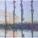 Puzzle  Grafika-00887 Claude Monet: The Four Trees, 1891