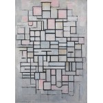 Puzzle  Grafika-01178 Piet Mondrian: Composition No.IV, 1914
