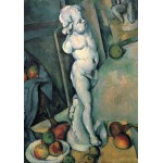 Puzzle  Grafika-01292 Paul Cézanne: Stillleben mit Putto, 1895