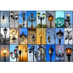 Puzzle  Grafika-01368 Collage - Lampen