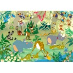 Puzzle  Grafika-01447 François Ruyer: Jungle
