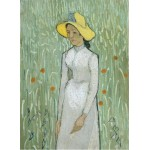 Puzzle  Grafika-01515 Vincent Van Gogh - Girl in White, 1890