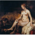 Puzzle  Grafika-01730 Rembrandt - Bathsheba at Her Bath, 1654